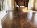 White Oak finished on site with wax
