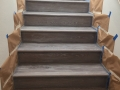 Always clean - custom finished stairs